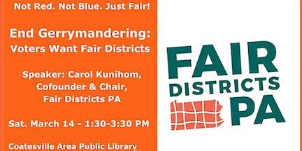 End Gerrymandering:  PA Voters Want Fair Districts
