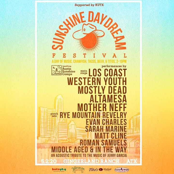 Sunshine Daydream Festival at Gingerland Ranch - Supported by KUTX image