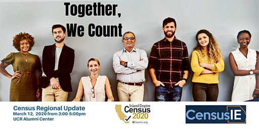 Census 2020 in the IE: Get Informed and Get Involved