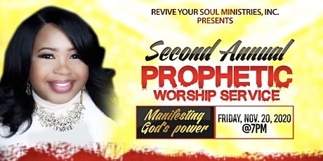 Second Annual Prophetic Worship Service tickets