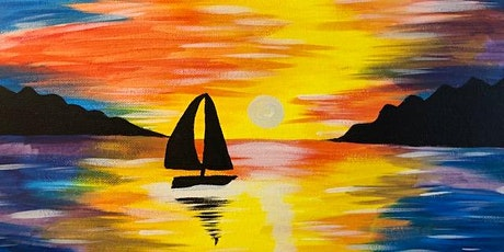 'Sailboat Sunset' - Fun Paint and Sip Event tickets