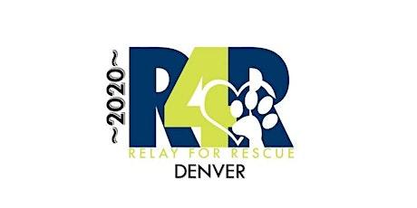 RELAY FOR RESCUE 2020-DENVER tickets