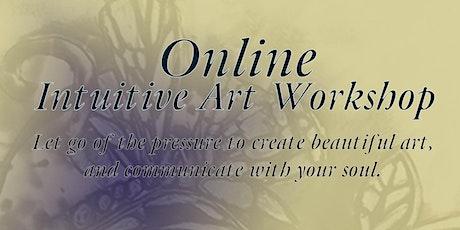 Online Intuitive Art Workshop April 12th, 2020 tickets