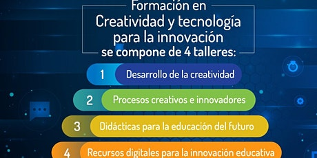 FORMACIÓN CREATIVIDAD Y TECNOLOGIA PARA LA INNOVACIÓN tickets