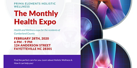 Holistic Health Expo (Learn how to control INFLAMATION) - 4th Friday  tickets