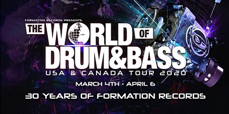 The World of Drum and Bass tour Columbus 2020 tickets