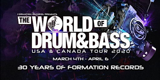 The World of Drum and Bass tour Columbus 2020