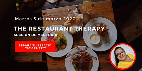 The Restaurant Therapy Marzo 2020  entradas