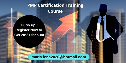 PMP Certification Classroom Training in Applegate, CA
