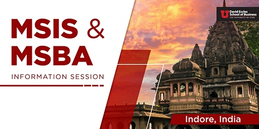 MSIS & MSBA Information Session| Indore INDIA