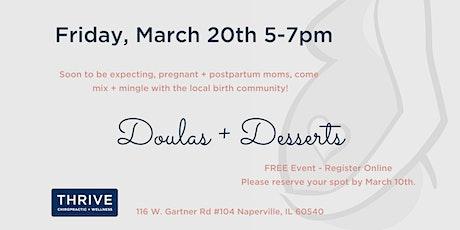 Doulas + Dessert tickets
