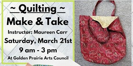 Workshop: Quilting Make & Take tickets