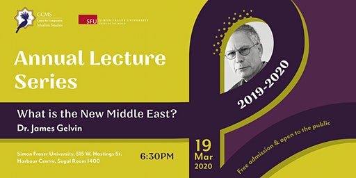 Dr. James Gelvin: What is the New Middle East?