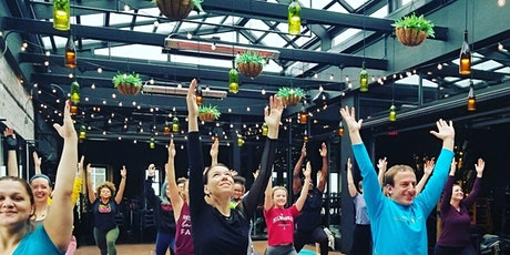 Yoga in the Atrium at Pizza Man on Downer tickets
