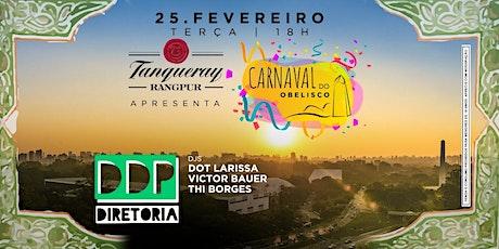 Carnaval do Obelisco apresenta DDP Diretoria ingressos