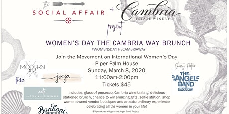 Women's Day the Cambria Way Brunch tickets