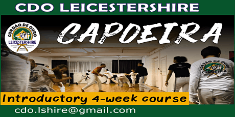 1 Month Capoeira class for beginners Leicester tickets