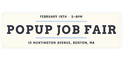 Popup Job Fair