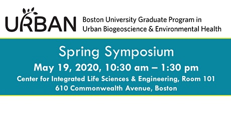 BU URBAN Spring Symposium tickets