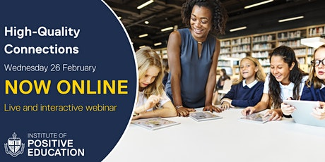 WEBINAR: High-Quality Connections, Online (February 2020) tickets