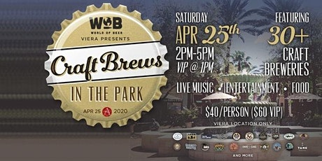 6th Annual Craft Brews in the Park! tickets