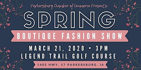 Spring Boutique Fashion Show tickets