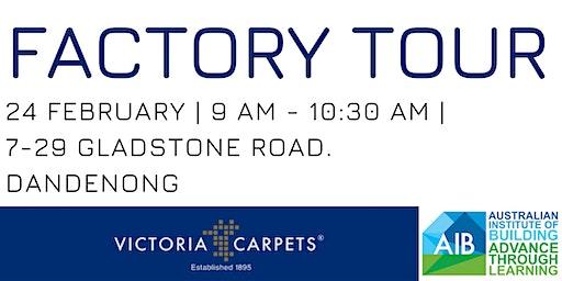Victoria Carpets Factory Tour