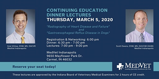 MedVet Indianapolis CE Dinner Lecture