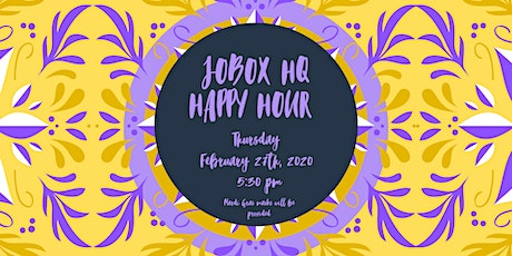 Jobox HQ Happy Hour tickets