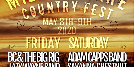 Milford Lake Country Fest tickets