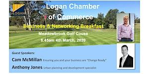 Logan Chamber Business & Networking Breakfast 2020