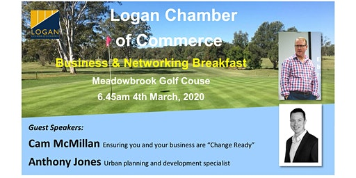 Logan Chamber Business & Networking Breakfast 2020