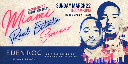 Cesar & DJ Envy's Real Estate Seminar [MIAMI]