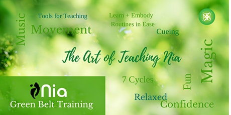 Nia Green Belt Training with Laurie Bass and Sophie Marsh | $1199 tickets
