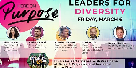 Here On Purpose: LGBTQI+ Leaders for Diversity tickets