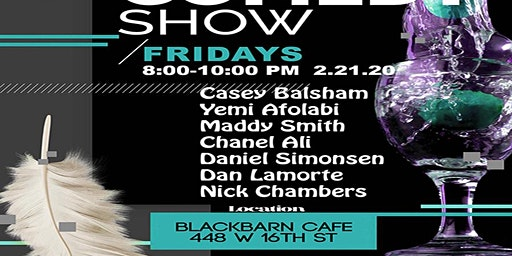 SMASH COMEDY SHOW BLACK BARN