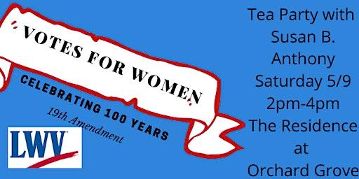Grafton Shrewsbury League of Women Voters 19th Amendment 100th Anniversary