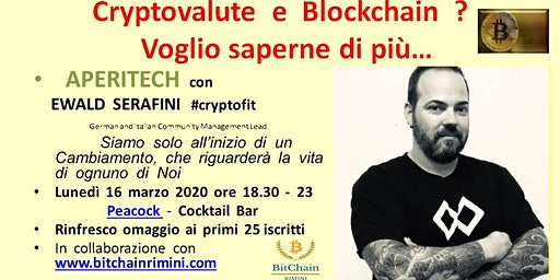 Cryptovalute e Blockchain ? Voglio saperne di più