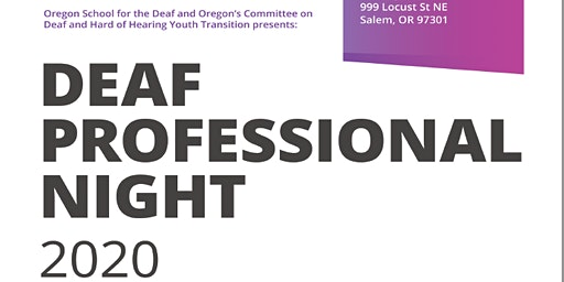 Deaf Professional Night 2020