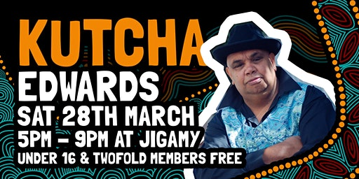 An Evening with Kutcha Edwards at Jigamy