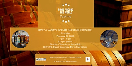 Rums of Around the World Tasting tickets