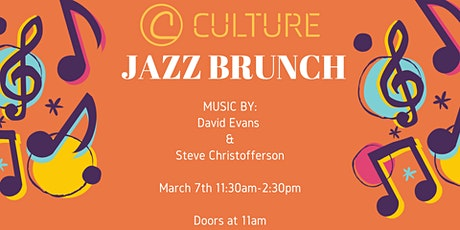 Jazz Brunch at Culture tickets