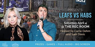 Puck Talks Watch Party: Leafs - Habs April 4