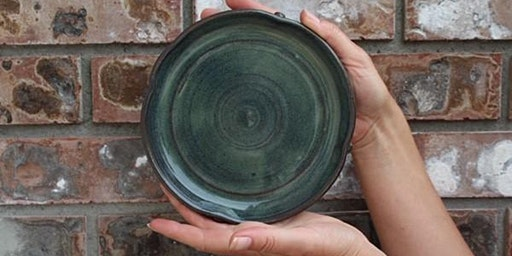Pottery Class Project: Piece-of-Cake Plates- One 3 hour Creative Class  March 30 or 31