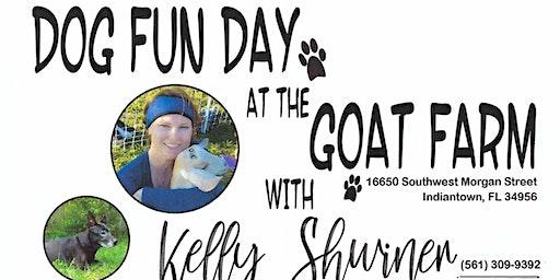 Dog Fun Day at the Goat Farm! Play 'n Train Workshop
