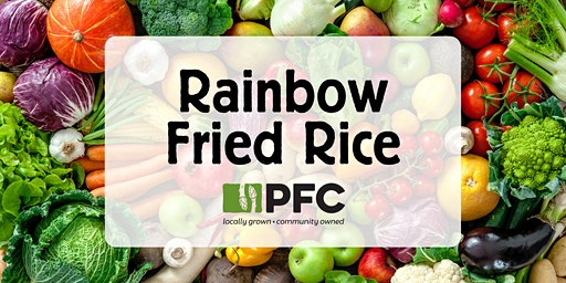 Learn to Make Rainbow Fried Rice