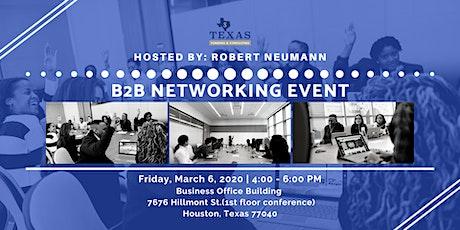 B2B Networking tickets