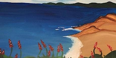 'California Cliffs' - Fun Paint and Sip Event tickets