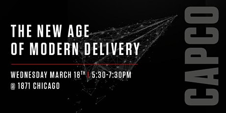 The New Age of Modern Delivery tickets