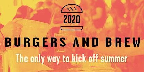Burgers & Brew tickets